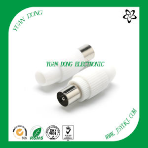 Coaxial Flylead PAL 9.5mm Female Plug Connector CATV Connector pictures & photos