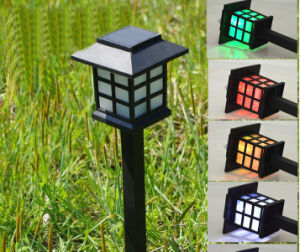 Factory Direct Solar Outdoor Plastic Lawn Lamp Solar Energy Lamp Mini Small Chinese Lanterns pictures & photos