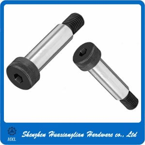 Stainless/Black Oxide Hex Socket Shoulder Step Bolt (4-40 8-32 10-32) pictures & photos