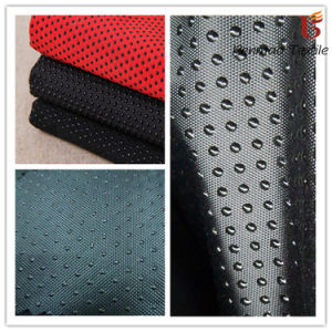 Polyester Dotted Oxford Fabric for Bath Mat/ Anti-Slip Glove pictures & photos