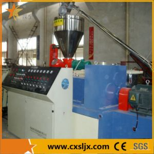 Conical Twin Screw Plastic Extruder with Bimetallic Screw Barrel pictures & photos