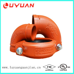 FM/UL/CE Ductile Iron Grooved Fittings for Fire Fighting System pictures & photos