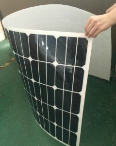 Semi Flexible Solar Panel 50W Flexible Sunpower Solar Panel pictures & photos