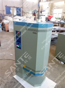Vertical Tube Furnace with 40mm Quartz Tube and Vacuum Flanges pictures & photos