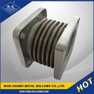 Metal/Rubber/PTFE Material Expansion Joint Compensator Flange Coupling pictures & photos