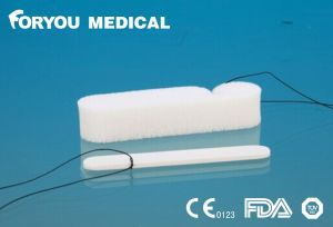 Foryou Medical Devices Sinus New Nose Bleed Merocel Sponge PVA Hemostatic PVA Medical Tampon Hemostatic Nasal Packing pictures & photos