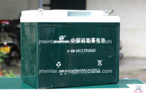 Lead-Acid Cell Silicone Battery 12V60ah