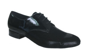 Embossed Velvet Men′s Tango/Ballroom/Standard Dance Shoes pictures & photos