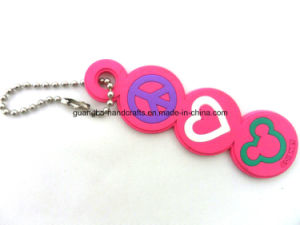 3D Promotion Soft PVC Custom Rubber Keychain pictures & photos