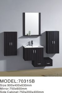 Europe Popular Wall Hung MDF Bathroom Cabinet pictures & photos