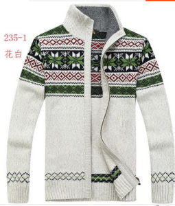 Men′s Knittted Sweater Pullover (0133) pictures & photos