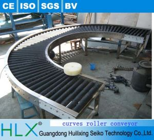 180 Degree Curve Motorized Roller Conveyor with Best Price pictures & photos