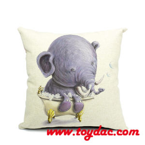 Natural Cotton Cloth Decoration Cushion pictures & photos