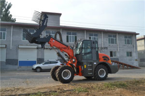 New Design Small Telescopic Handler Forklift Loader pictures & photos