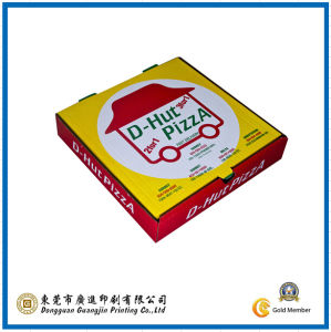 Customized Colorful Pizza Box for Packaging (GJ-Box093) pictures & photos