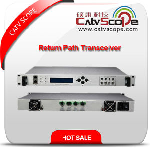 Professional Supplier High Performance Indoor 4way Return Path Optical Receiver Transceiver pictures & photos