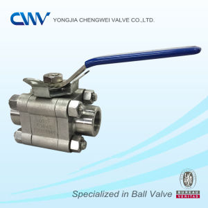 Stainless Steel Forged Floating Ball Valve with Locking Device