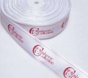 Customized Polyester Satin Ribbon for Clothing pictures & photos
