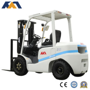 New Forklift Price 3ton Diesel Forklift with Mitsubishi Engine pictures & photos