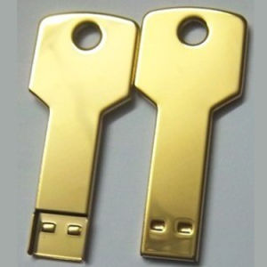 Golden Key USB Flash Stick 128MB pictures & photos