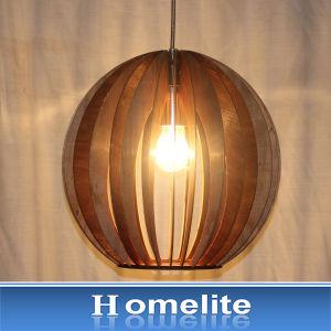 Simple Garden Style Wooden Decoration Pendant Light