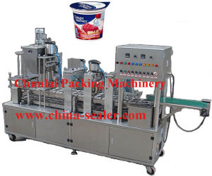 Automatic Yogurt Cup Filling and Sealing Machine (PCF-2) pictures & photos