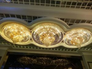 Hotel Project Extravagant Chandelier Crystal Lamp (KA0533) pictures & photos
