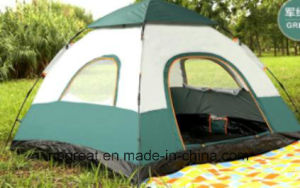 Traveling and Hiking 3-4 Person Outdoor Family Camping Tent pictures & photos