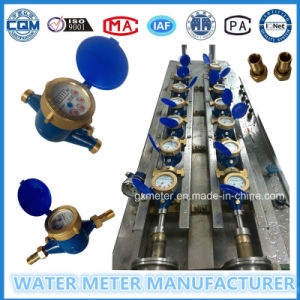 Brass Multi-Jet Vane Wheel Dry Type Water Meter pictures & photos