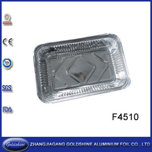 Takeaway Rectangular Aluminum Foil Airline Food Container pictures & photos
