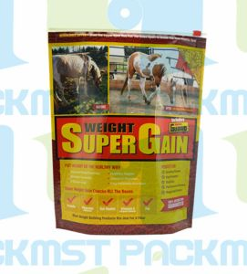 Cosmetic Plastic Pet Food Packaging Packing Ziplock Zipper Standup Bag pictures & photos
