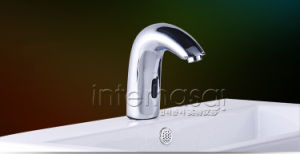Deck-Mounted Induction Cold and Hot Sensor Hands Free Commerical Kitchen Bathroom Toilet Faucet pictures & photos