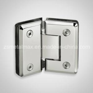 Brass 135 Degree Glass Clamp Shower Door Hinge (YH406) pictures & photos