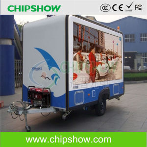 Chipshow P10 RGB Full Color Mobile Advertising LED Screen pictures & photos