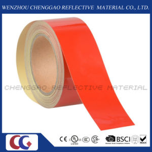 Red Commercial Grade Reflective Caution Tape for Floor (C1300-OR) pictures & photos