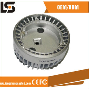 Solar LED The Lamp Shade Die Casting Housing Parts pictures & photos