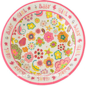 Paper Dinner Plates for Birthday Party pictures & photos