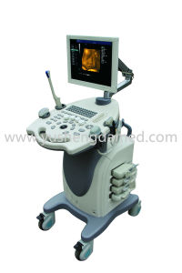 CE Approved Trolley Color Doppler Ultrasound Machine Ysd680 pictures & photos
