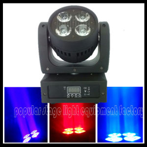 4PCS*10W RGBW 4in1 LED Mini Beam Moving Head pictures & photos