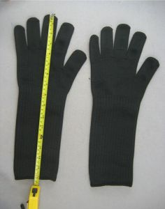 Steel Wire Anit-Cut Level 4 Glove-2356 pictures & photos