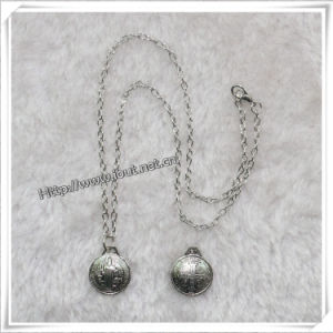 Silver Metal Rosary Necklace, Religious Necklace (IO-an086) pictures & photos