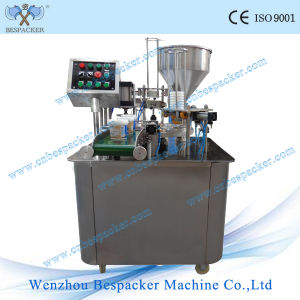 Rotary Type Paper Cup Filling and Sealing Machine pictures & photos