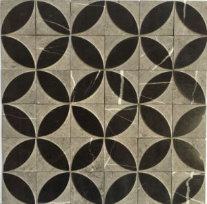 Special Design Anti Slip Natural Stone Marble Moasic Tile (FYSL358)