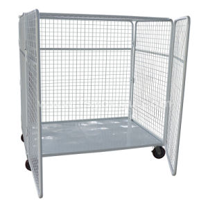 Foldable Warehouse Roll Container /Logistic Trolley
