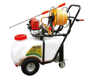 Gasoline Engine Recoil Two Stroke Hand Push Sprayer (CY-55) pictures & photos