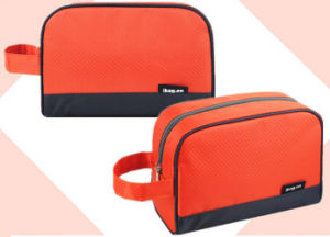 Ripstop Polyester Promotional Cosmetic Bag for Man and Women pictures & photos