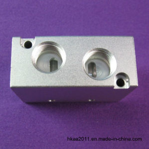 CNC Milling Aluminum Hydraulic Manifold as Machinery Parts pictures & photos