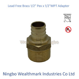 "Lead Free 1/2"" Pex X 1/2"" Mpt Adapter Pex Pipe Plumbing Fitting pictures & photos"