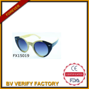 Handmade Cat Eye Wooden Sunglasses (FX15019) pictures & photos