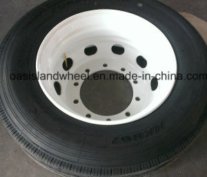 Assembly (215/75r17.5 235/75r17.5) Light Truck Tire, TBR Tire with Rim pictures & photos